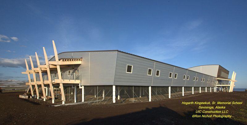 Savoonga School Side View